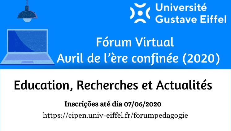 Fórum Virtual: Education, Recherches et Actualités