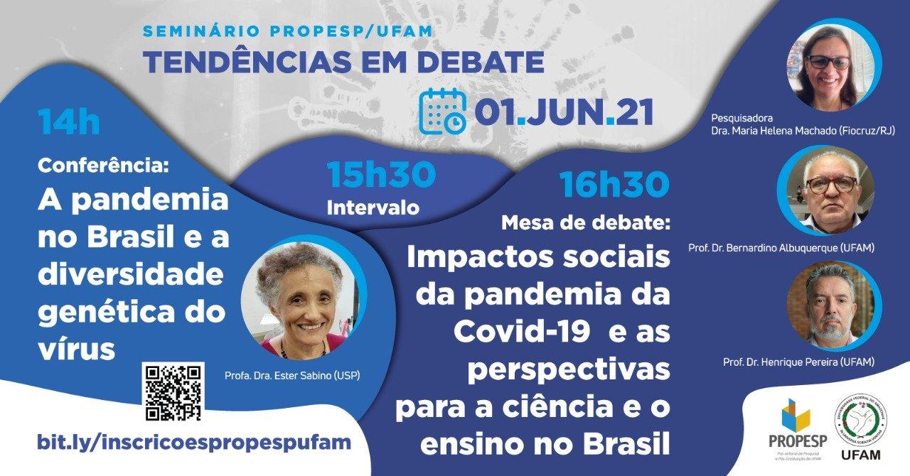 [EVENTO] Seminário PROPESP: Tendências em Debate